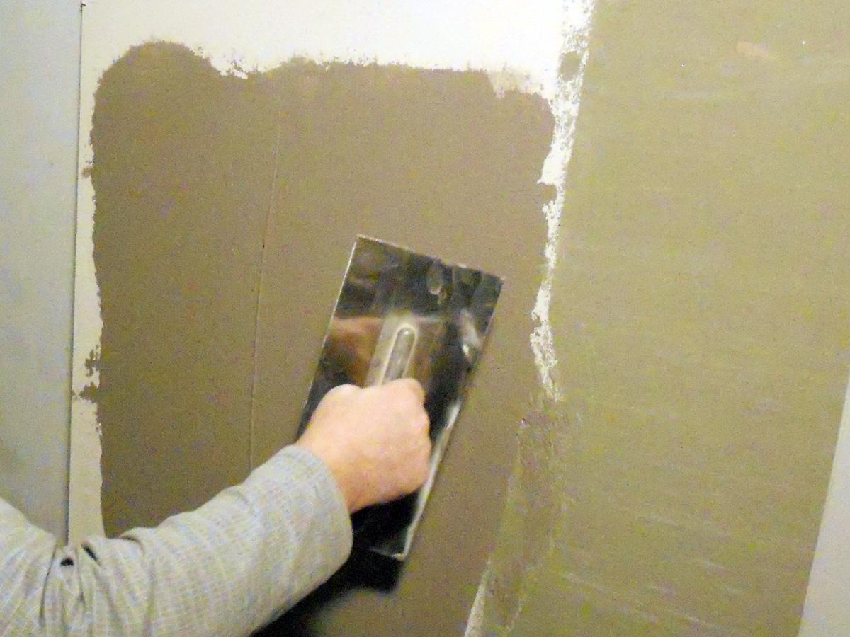 Общие принципы штукатурки стен