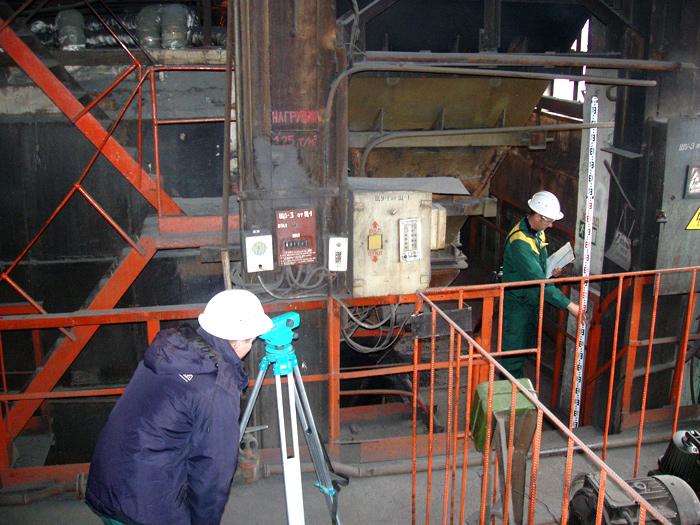 Процесс обследование зданий и сооружений