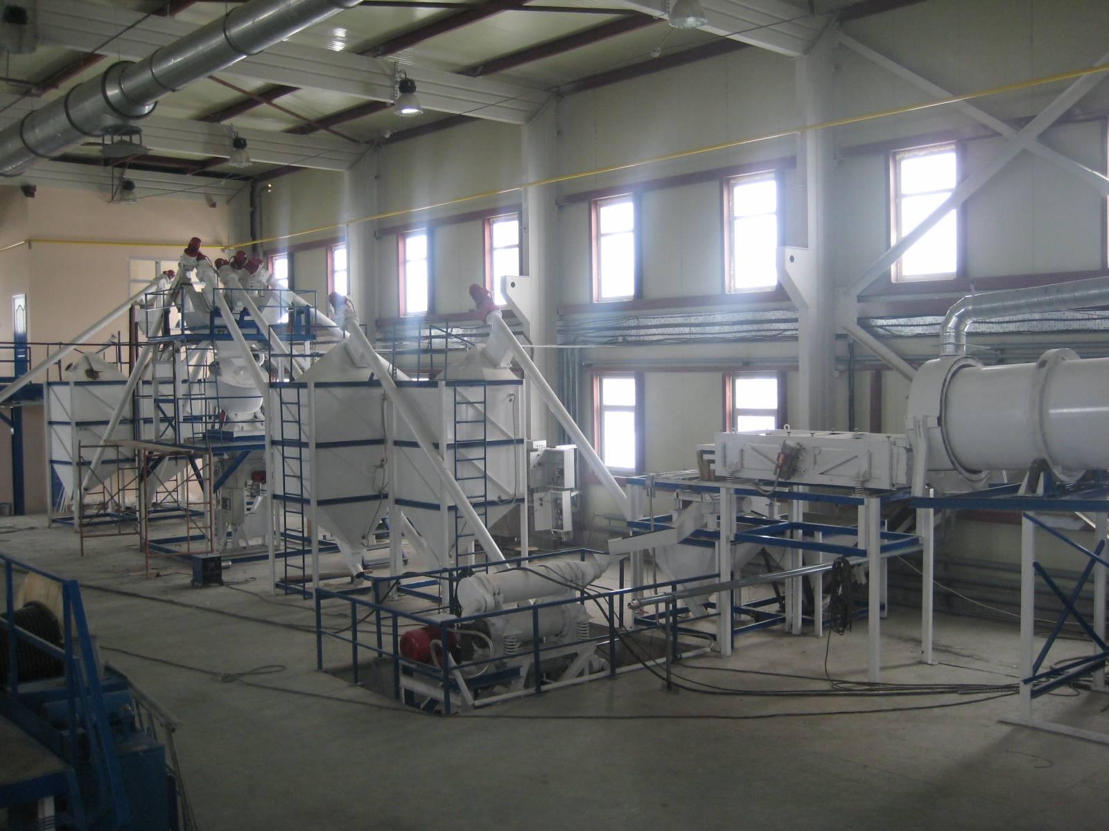 В Новосибирске построят завод по производству строительных смесей