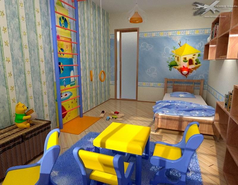 Этапы ремонта в детсткой комнате