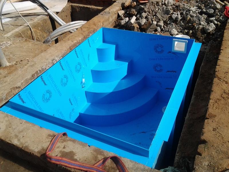 Использование пропилена в строительстве бассейнов