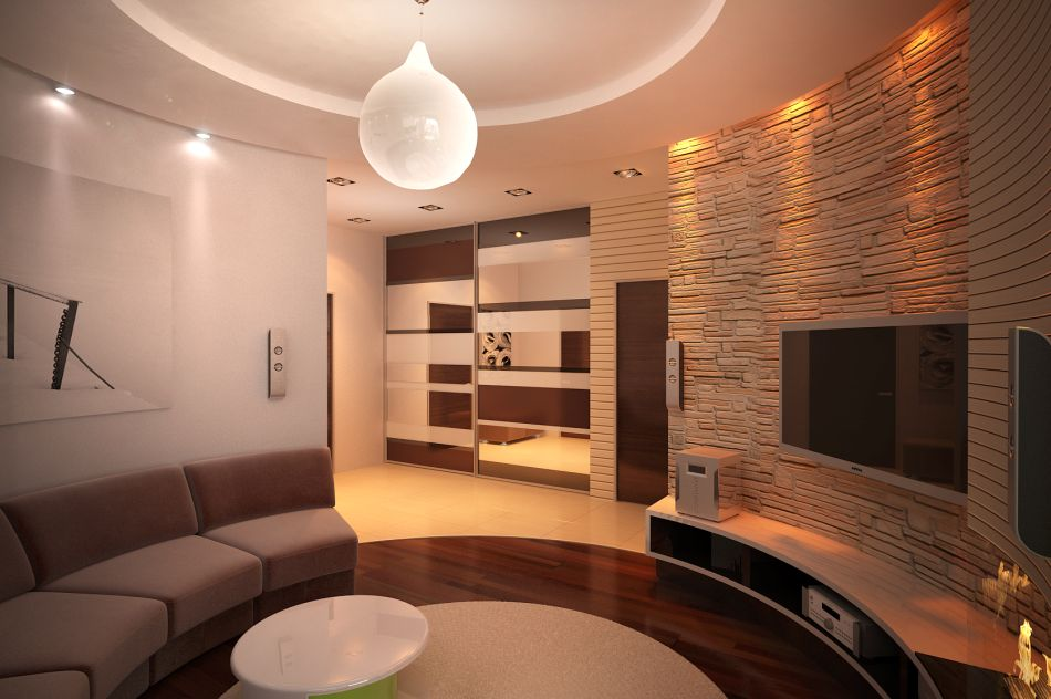 Как объединить комнаты аркой