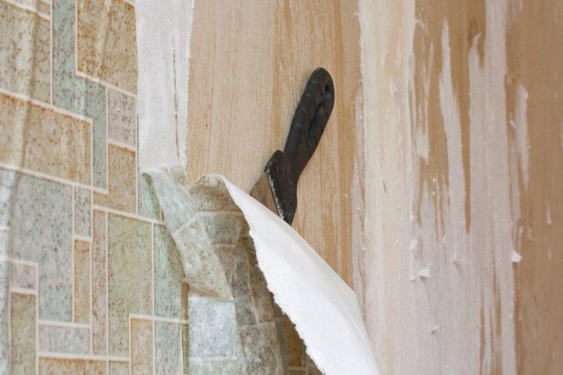 Как удалить старые обои со стен
