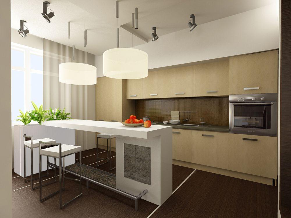 Идеи для оформления кухни найти на