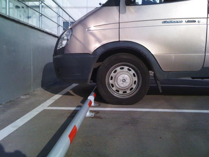 Металлические колесоотбойники