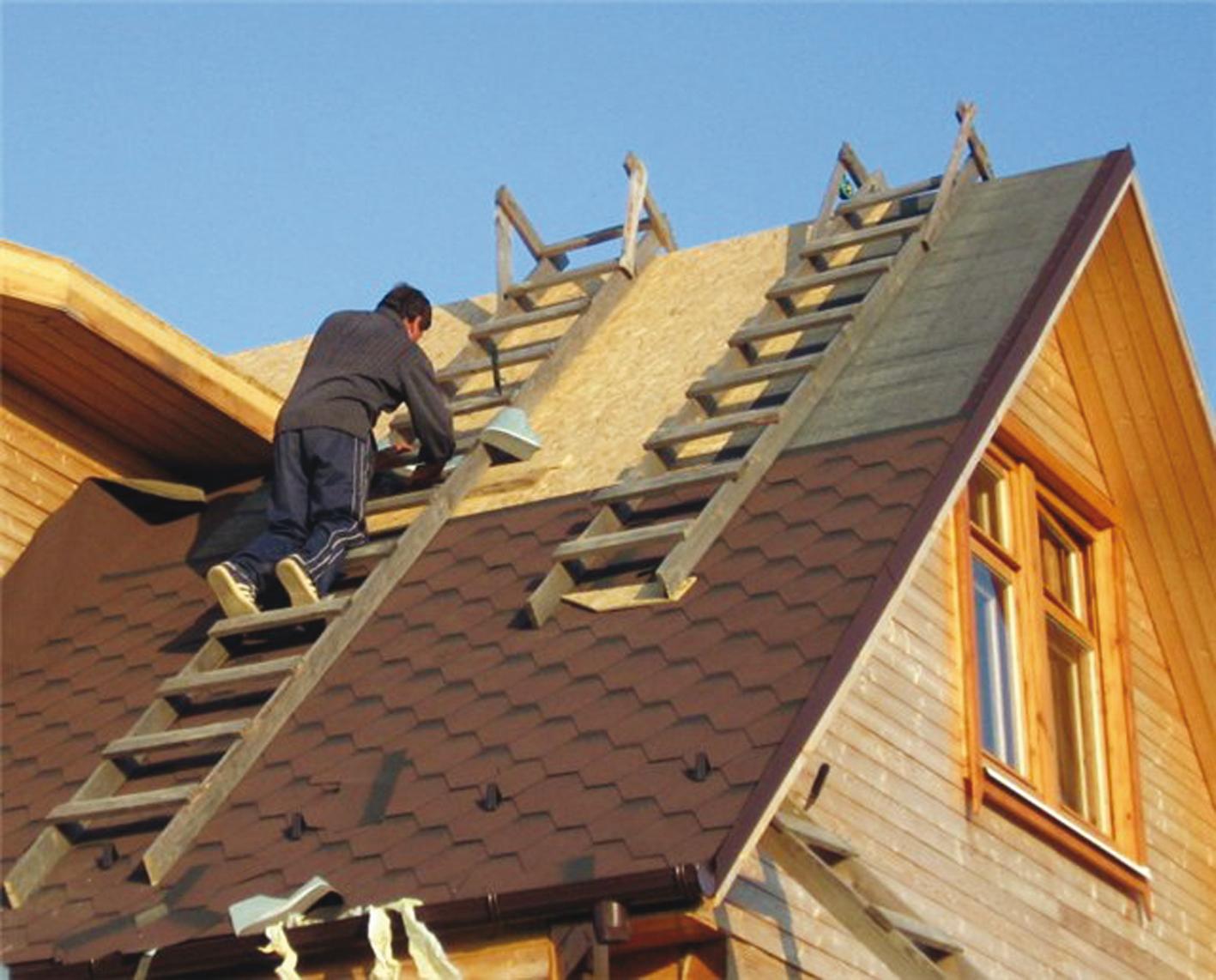 Ремонтируем крышу коттеджа