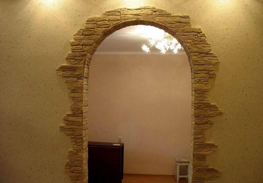 Чем отделать арку в квартире своими руками