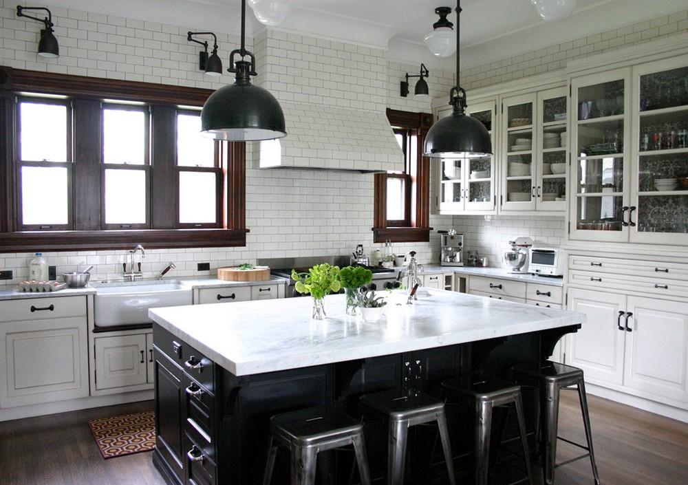 освещение в доме на кухне