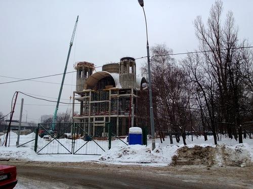 Строительство православного Храма на улице Кетчерская