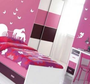 дизайн интерьера для комнаты девочки
