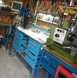 мастерская в частном доме