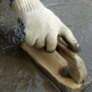 работы по заливке бетона