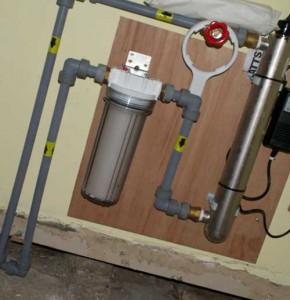 система фильтрации воды для коттеджа