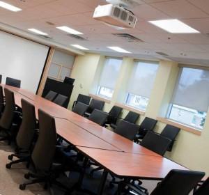 дизайн комнаты для совещаний