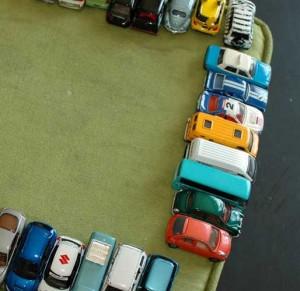 как сделать стоянку для машины