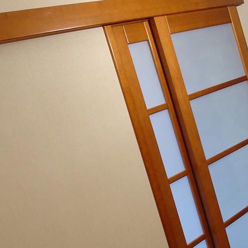 Сделать раздвижную межкомнатную дверь своими руками 21