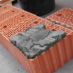 кладка керамических блоков