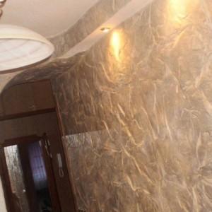 материалы для отделки стен в прихожей