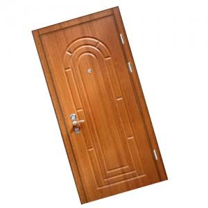 установить входную деревянную дверь