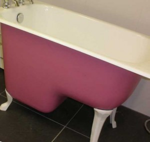 маленькая сидячая ванна