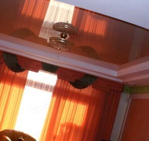 уход за матовыми натяжными потолками