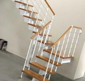 монтаж модульной лестницы
