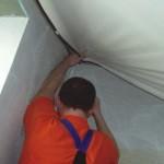 Основные принципы монтажа натяжных потолков