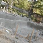 Заливка бассейна бетоном