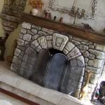 Декоративная отделка камина
