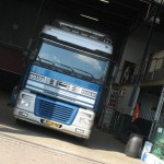 Строительство гаража для грузового автомобиля