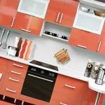 Современные кухни из пластика: практично и оригинально