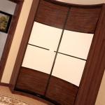 Радиусный шкаф-купе, оригинальная мебель для вашего дома
