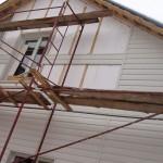 Навесной фасад для загородного дома