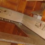 Установка кухонной столешницы