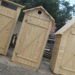Установка дачного туалета
