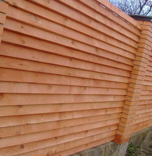 Как сделать забор жалюзи из дерева своими руками 90