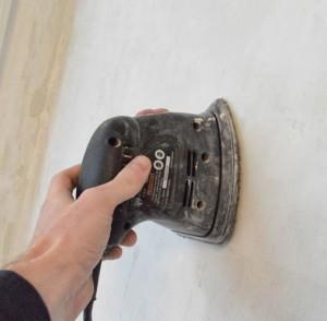 шлифовка стен после шпаклевки
