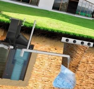 система очистки канализации для коттеджа
