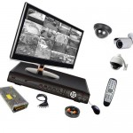 Системы видеонаблюдения и пожаротушения