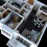 3D визуализация интерьеров квартир