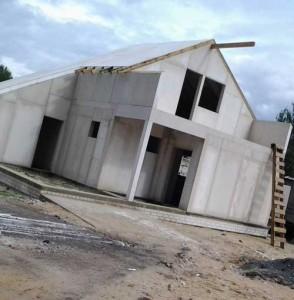 строительство домов из каменных панелей