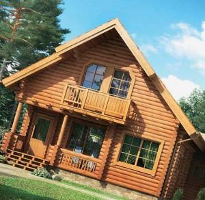 украшение фасада деревянного дома