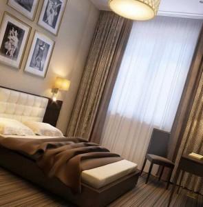 интерьер гостиничного номера