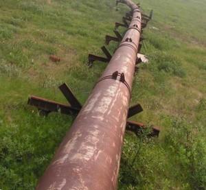 монтаж надземного трубопровода