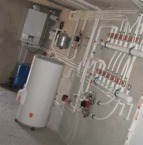 оборудование для монтажа отопления