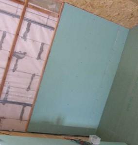 отделка внутренних стен каркасного дома