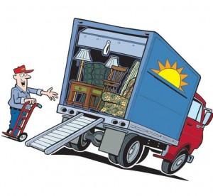 сколько стоит перевозка мебели