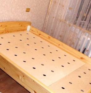 двуспальная кровать своими руками