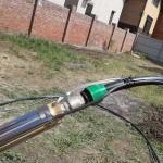 Монтаж скважинного насоса
