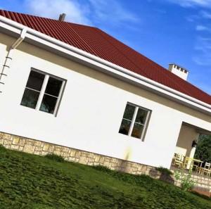 строительство одноэтажного дома под ключ